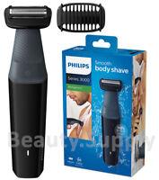 Philips BG3010 Men WaterProof Body Hair Shaver/Cordless Groomer Clipper Trimmer