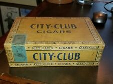 VINTAGE RED LION, PA FOUND CIGAR BOX - City Club Hanover Pa H.N. Heusner Cigars
