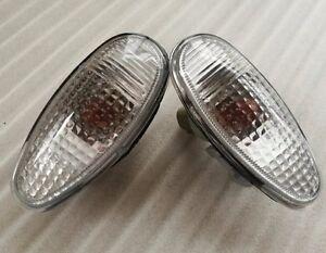 Pair Side Fender Lamp Light Repeater Mitsubishi PAJERO MONTERO Lancer Outlander