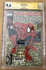 Spiderman 1 CGC SS 9.6 Todd McFarlane Signed Platinum Edition1990 Marvel Comics