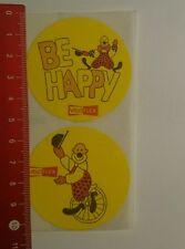 Aufkleber/Sticker: Be Happy Veloflex (27081611)