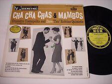 "Dave ""Tico"" Robbins Quintette Cha Cha Chas & Mambos 1956 Mono LP"