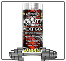 Muscletech Hydroxycut Hardcore Next Gen 100 Caps Strong Fat Burner