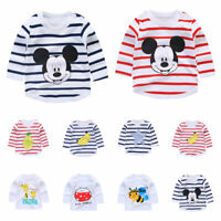 1pc Kids baby girls boys clothing tops T shirt baby base shirt  bottoming shirt