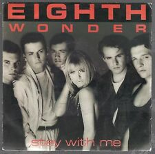 """EIGHTH WONDER STAY WITH ME LOSER IN LOVE 7"""" 45 GIRI"""