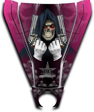 Graphic Decal Kit Canam Commander Can Am Hood Sticker Reaper Revenge Pink