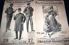 """CATALOGUE MODE """"AUX CLASSES LABORIEUSES"""" ETE 1906"""
