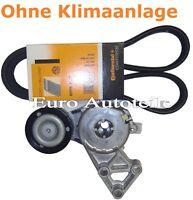 Keilrippenriemen+Satz Riemenspanner AUDI A3 8L1TT 1.6 1.8 T 2.0 06A 903 315 D E