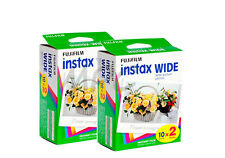 Fuji Instax Wide 210 Instant Color Print Film twin pack (40 shots) FRESH DATED