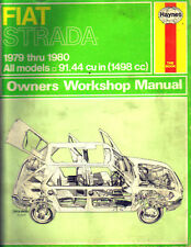 HAYNES WORKSHOP MANUAL FIAT STRADA 1979-80 ALL MODELS