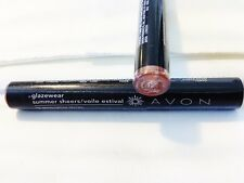 Avon Glazewear Summer Sheer Lip Gloss Clear Sheer Sunrise Sealed Peach Coral Ish