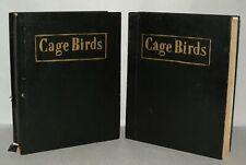 Cage Birds And Bird Fancy Magazines - 1953 - Bound.