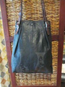NANCYBIRD large Tote shopper style leather handbag