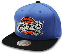 Cleveland Cavaliers Cap NBA Mitchell & Ness Throwback Blue Snapback Cap - New