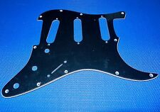 Fender Buddy Guy Stratocaster Strat Pickguard Guitar Parts black 3 ply
