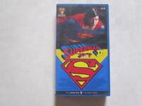 Christopher Reeve SUPERMAN II  japanese movie VHS japan