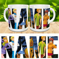 Scooby Doo Gang Personalised Name Mug Cup Gift Birthday Present Xmas New