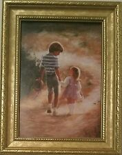 COUNTRY WALK DONALD ZOLAN FRAMED LITHOGRAPH NUMBERED PRINT PEMBERTON & OAKS 1993