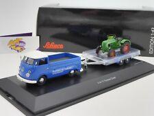 """Schuco 03740 # furgoneta VW t1 camastro m. colgante # Allgaier diesel """"Porsche"""" 1:43"""