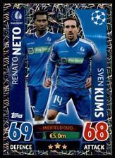 Match Attax Champions League 15/16 Renato Neto / Sven Kums KAA Gent No. 324