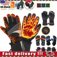 Outdoor Electric Battery Heated Gloves Winter Hand Warmer Motorcycle Cycling Ski