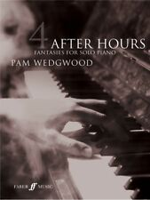 After Hours 4 Fantasies For Solo Piano Learn to Play Piano SHEET MUSIC BOOK
