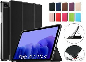 """Samsung Galaxy Tab A7 10.4"""" SM-T500 T505 Magnetic Smart Case Stand Tablet Cover"""