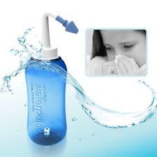 Adults Kids Nasal Wash Cleaner Nasal Bottle Irrigation Sinus Rinse Nose Care New