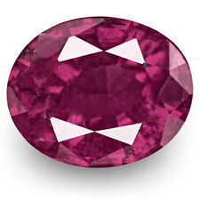 IGI Certified PAKISTAN Ruby 0.74 Cts Natural Untreated Oval