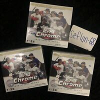 ⚾️🔥2020 Topps Chrome MLB BASEBALL Update Series Mega Box  **LOT OF 3**🔥⚾️