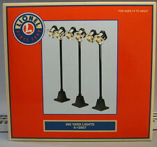 LIONEL# 65 YARD LIGHTS 3 PK lighted train accessory lighting poles 6-12927 NEW