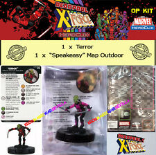 HEROCLIX MARVEL DEADPOOL & X-FORCE OP KIT  - Terror + Speakeasy Double Map
