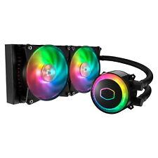 Cooler Master MasterLiquid ML240R RGB 120mm Liquid CPU Cooler w/Controller