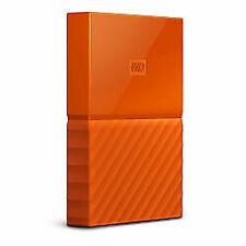 ✅ 1TB WD My Passport (Windows or Mac) Orange 1.0TB Ext Portable WDBYNN0010BOR