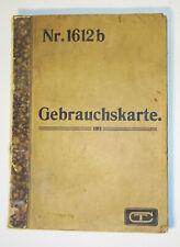 Musterbuch mit schönen Tapeten um 1900 Rarität !