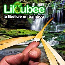 200 Libellules (+ 10 Gratuites)  Bambou Brut Naturel Vietnam Décoration de Table