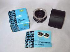 SOLIGOR Auto Tele 2X Converter lens for MINOLTA MD mount cameras