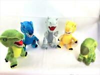 Jurassic Park Plush Soft Toy Bundle - Universal - 5 Dinosaurs - Great Condition