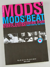 Japan Book MODS' BEAT DISC GUIDE Paul Weller, The Who, Small Faces RARE!!