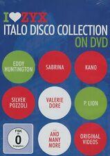 Italo Disco Collection On DVD feat. Sabrina, P. Lion, Silver Pozzoli, ... (DVD)