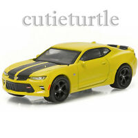 Greenlight 2016 Chevrolet Camaro SS 1:64 Diecast Car GL Muscle 13160 E Yellow
