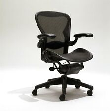 Herman Miller Aeron Mesh Desk Chair A Size (small) fully adjustable with lumbar
