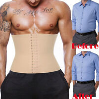 Men's Compression Cellulite Body Shaper Waist Cincher Slimming Belly Weight Loss