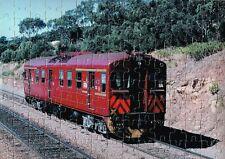STA SINGLE RED HEN RAIL CAR 433  - A4 120 PIECE JIGSAW PUZZLE -
