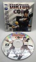 Virtua Cop - Not For Resale Version - Sleeve and Disk- Sega Saturn