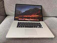 "Apple MacBook Pro 2011 17"" 2,4 GHz i7 2nd Gen 8 Go RAM 750 Go hdd b864"