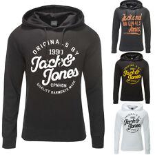 JACK & JONES Kapuzenpullover Sweat Jacke Pullover Hoodie Schwarz/Weiß/Navy NEU