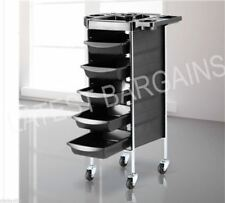 Hairdresser Salon Hair Station Trolley Beauty Spa Rolling Storage Cart 6 Tier