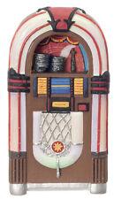 Années 1950 juke-box, maison de poupées miniatures, musique de chambre, échelle 1:12, pub bar musique