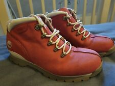 Pink Suede Ladies Timberland Boots Size 5.5 UK